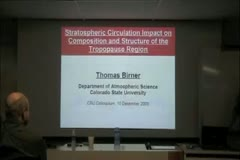 Stratospheric circulation impact on composition and structure of the tropopause region