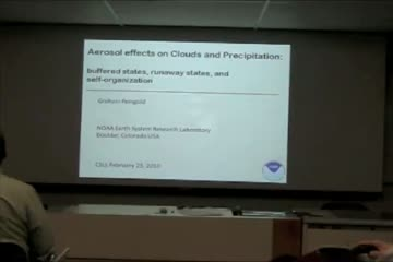 Aerosol effects on Clouds and Precipitation: Buffered states, runaway states, and self-organization