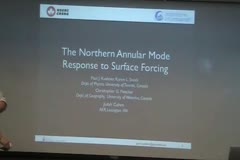 The Northern Annular Mode Response to Surface Forcing