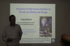 Response of High-Impact Weather to Climate Variability and Change