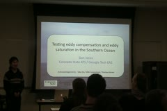 Testing Eddy Compensation and Eddy Saturation in the Southern Ocean