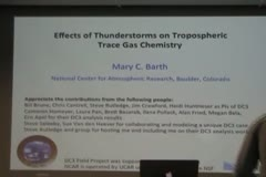 Effects of Thunderstorms on Tropospheric Trace Gas Chemistry