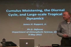 Cumulus Moistening, the Diurnal Cycle, and Large-Scale Tropical Dynamics