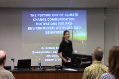 The Psychology of Climate Change Communication:  Motivations for Pro-Environmental Attitudes and Behaviors