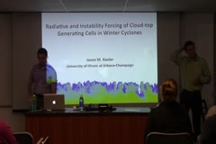 Radiative and Instability Forcing of Cloud-top Generating Cells in Winter Cyclones