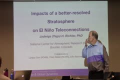 Impacts of a better-resolved stratosphere on  El Niño teleconnections