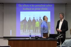 The impact of the permafrost carbon feedback on global climate