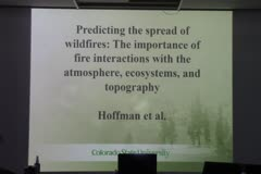 Predicting the spread of wildfires: The importance of fire interactions with the atmosphere, ecosystems, and topography