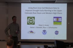 Maximizing the Utility of Available Root Zone Soil Moisture Data for Drought Monitoring Purposes in the Upper Colorado River Basin and Western High Plains, and Assessing the Interregional Importance of Root Zone Soil Moisture on Warm Season Water Balance