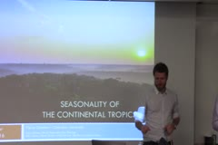 Biosphere-atmosphere interactions and seasonality in the continental Tropics