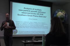 Analysis of Multiple New-Particle Growth Pathways Observed at the U.S. DOE Southern Great Plains Field Site