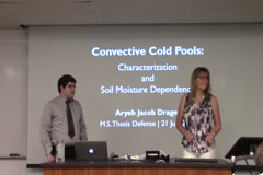Convective Cold Pools: Characterization and Soil Moisture Dependence