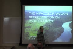The Impacts of Amazon Deforestation on Pacific Climate
