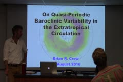 On Quasi-Periodic Baroclinic Variability in Extratropical Circulation