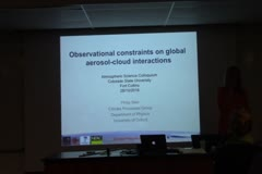 Observational Constraints on Global  Aerosol-Cloud Interactions