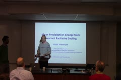 Mean precipitation change from invariant radiative cooling