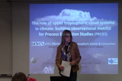 The Role of Upper Tropospheric Cloud Systems in Climate: Building Observational Metrics for Process Evaluation Studies