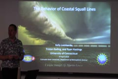 The Behavior of Coastal Squall Lines